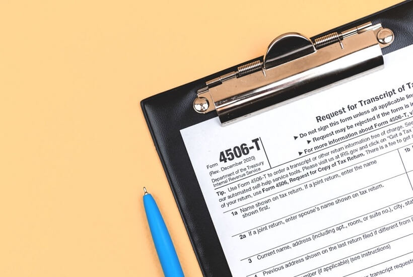 You are currently viewing How to get your tax transcript
